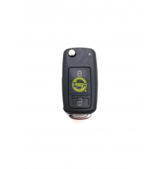 VOLKSWAGEN 3 BUTTONS WITH BATTERY COMPARTMENT ON SHELL