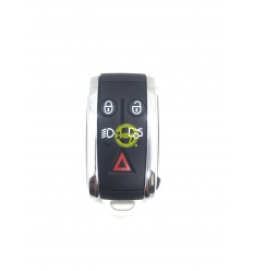JAGUAR KEYLESS SHELL 4 KEYS WITH BLADE