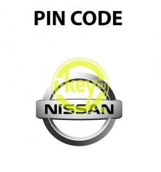 PIN CODE NISSAN