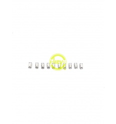 UNIVERSAL SWITCHES BUTTONS WHITE 10 PIECES PACK